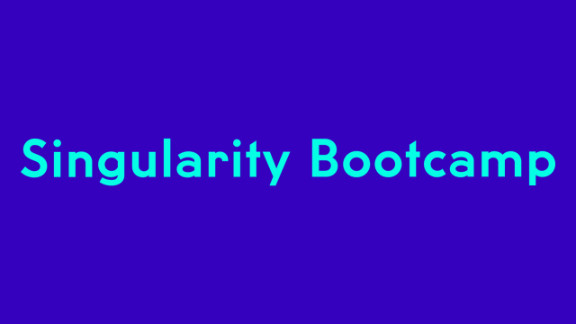 Singularity Bootcamp